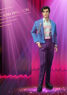 The Fashion Doll Chronicles: New Jem And The Holograms doll - and it's Sean Harrison!
