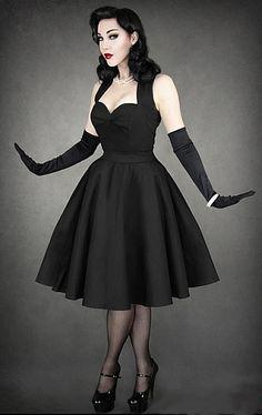 Helen Krueger    #rockabilly #style #fashion #dress #retro #dress