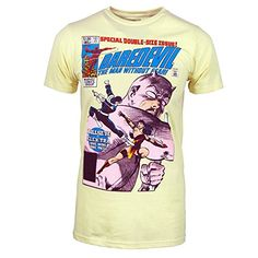 Marvel - Hombre comics darojoevil camiseta amarillo xxl amarillo #regalo #arte #geek #camiseta