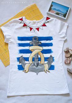 a3a7eda91024 Футболка Seamood. Море всегда в моде! ) Готовитесь к отпуску или  соскучились по. T Shirt ...