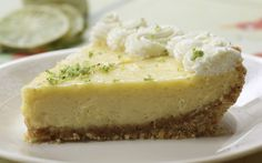 grain-free Key Lime Pie by Ann Louise Gittleman