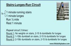 stadium stairs workout