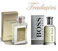 TRADUÇÕES GOLD 61 | *HUGO BOSS BOTTLED– 100ml  Tipo Woody Oriental com aroma intenso.