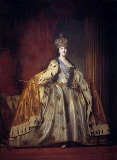 Portrait of Catherine II The Great Russian Empress
