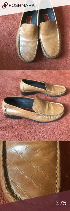 Cole Haam  leather loafers Call hon leather loafers still in great shape very comfortable. Make me an offer Shoes