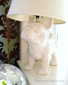 5-21-13n 069french bulldog lamp @ CharmingZebra.com  LOVE!!!