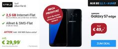 2,5GB OTELO Allnet Flat XL für 29,99€ mit Galaxy S7, iPhone ab 1€ http://www.simdealz.de/vodafone/otelo-allnet-flat-xl-2500-mb/
