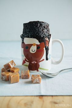 5-Minute Salted Caramel Chocolate Mug Cake