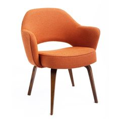 {Saarinen executive armchair} I want one in orange, chartreuse and blue!
