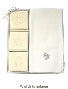 COURTESY GIFT SET : SILVER BEE