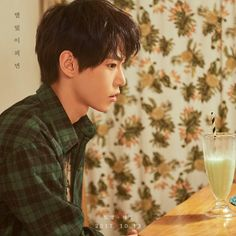 I didn't realize how much we needed Doyoung in a flannel until we received it
