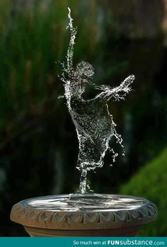Water Dancer, Digital World photo via bella - figure, ballet, dance, fountain Water Art, Dance Photography, Fantasy Photography, Amazing Photography, Levitation Photography, Exposure Photography, Photoshop Photography, Wildlife Photography, Food Photography