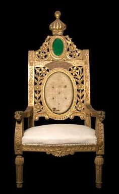 King Farouk's throne by royalist_today, via Flickr
