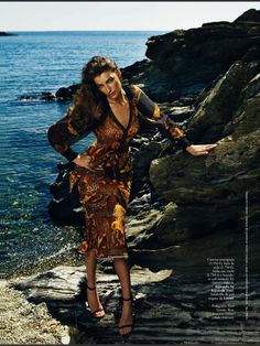 Givenchy (con vistas al otoño: eugenia volodina for elle spain september 2013)