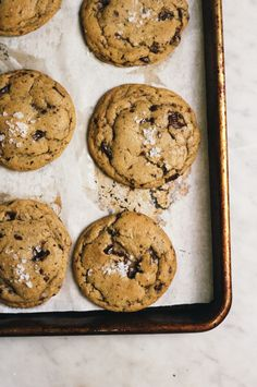 Basic, Great, Chocolate Chip Cookies from Seven Spoons | Yossy Arefi + Apt 2 Baking Co