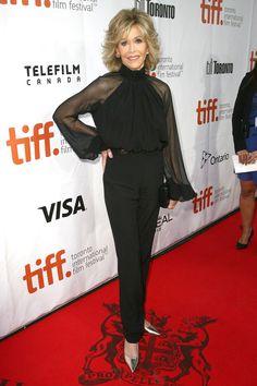 b661fa4ed Jane Fonda on the red carpet - The Best Looks from the Toronto  International Film Festival