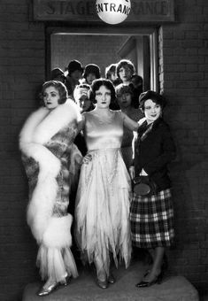 Constance Bennett, Sally O'Neil and Joan Crawford in Sally, Irene and Mary, 1925