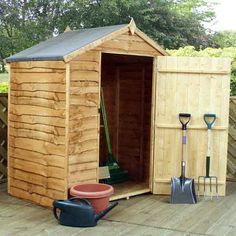 Winchester Windowless Waney Edge Apex Roof Shed Outdoor Buildings, Outdoor Structures, Apex Roof, Shed Construction, Greenhouse Shed, Wooden Sheds, Rustic Gardens, Shed Storage, Wooden Garden