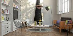 HDRI and Vray Sun for Interior Lighting - Aleso3d