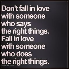 Don't Fall In Love.
