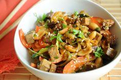 Super Simple Vegan Pad Thai | Vegan Recipes from Cassie Howard