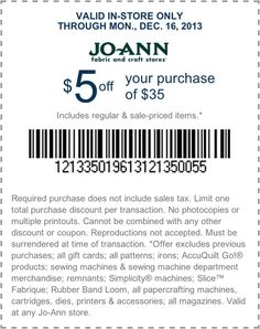 1000 images about joann fabric and craft stores on for Jo ann fabric and craft coupons