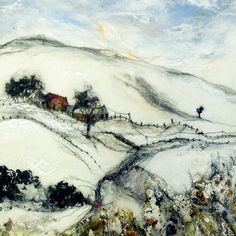 Winter at Glenlichorn - by Moy Mackay