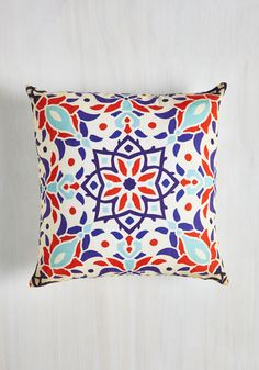Sharing is Carousel Pillow - From the Home Decor Discovery Community at www.DecoandBloom.com