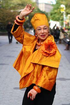 New-York'street fashion people.