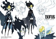 Dofus character design by Bill Otomo