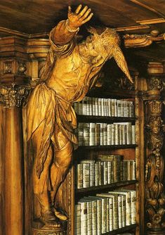 Library in the Cistercienserinnen Abbey Waldsassen 4de84ca4b8