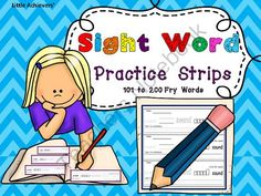 Worksheets Write In Word From 101 To 200 on the sidelines worksheet non participation for sight word writing strips fry words 101 to 200 from little achievers teachersnotebook