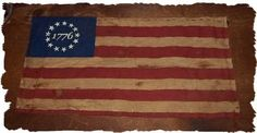 1776 FLAG Primitive Americana Candle Mat by oldetimegatherings, $8.49