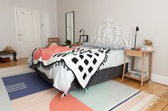 Throw / blanket by Something Good Studio, Rug by Fabrica Studio, Photography by Design Store ZA, Proudly South African design.