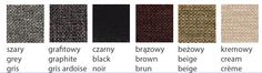 Upholstary textures colours: