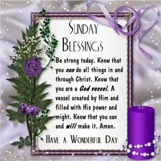 757 Best Sunday Blessing Images In 2019 Sunday Blessing Domingo