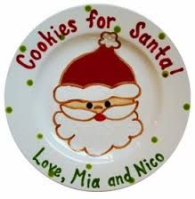 Image result for handprint xmas plates