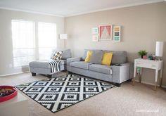 Afbeeldingsresultaat voor zwart wit tapijt