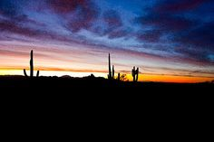 Desert Sunrise 9 Watercolor Photograph