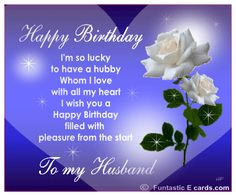 107 Best Birthday Cards For Husband Images