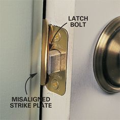 Ordinaire How To Repair Interior Door That Will Not Close. The Latch Wonu0027t Catch