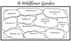 Wildflower garden plan We love Gardening. http://www.meinhaushalt.at
