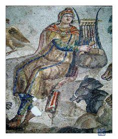 Mosaïque d'Orphée - Antakya, Hatay