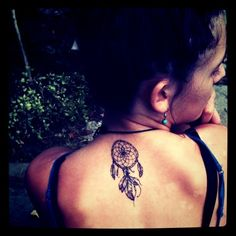 My dream catcher tattoo