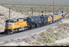 RailPictures.Net Photo: UP 4014 Union Pacific EMD SD70M at Cima, California by Ryan Schmelzer