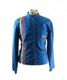 Twin stripes racing jacket
