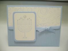 Hanukkah Card by mcgill15 - Cards and Paper Crafts at Splitcoaststampers