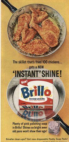 1964 Brillo Scrub Pad Ad, Still Remember