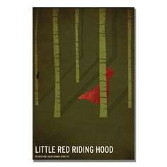Red Riding Hood by Christian Jackson Graphic Art on Wrapped Canvas