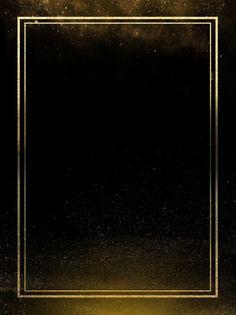 Black Halo Of Gold Scrap Gold Poster Background Material Gold And Black Background, Black Background Wallpaper, Poster Background Design, Light Background Images, Creative Background, Background Patterns, Black Backgrounds, Easy Frame, Or Noir